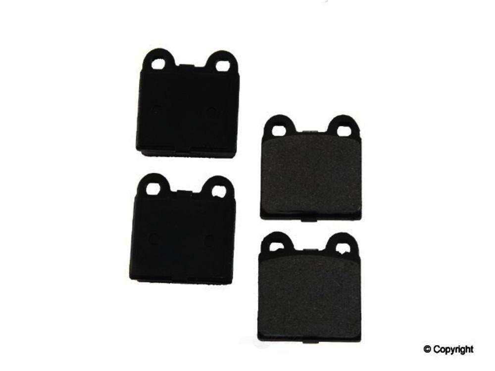 Original -  Performance Ceramic Disc Brake Pad Set - WDX 520 00301 508