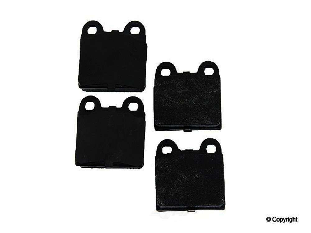 Original -  Performance Semi-Met Disc Brake Pad Set - WDX 520 00301 507