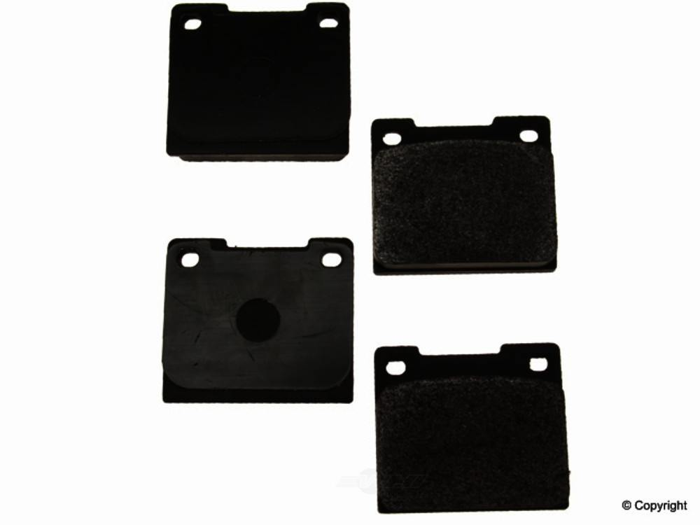 Original -  Performance Semi-Met Disc Brake Pad Set - WDX 520 00440 507