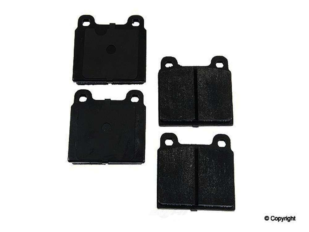 Original -  Performance Semi-Met Disc Brake Pad Set - WDX 520 00450 507