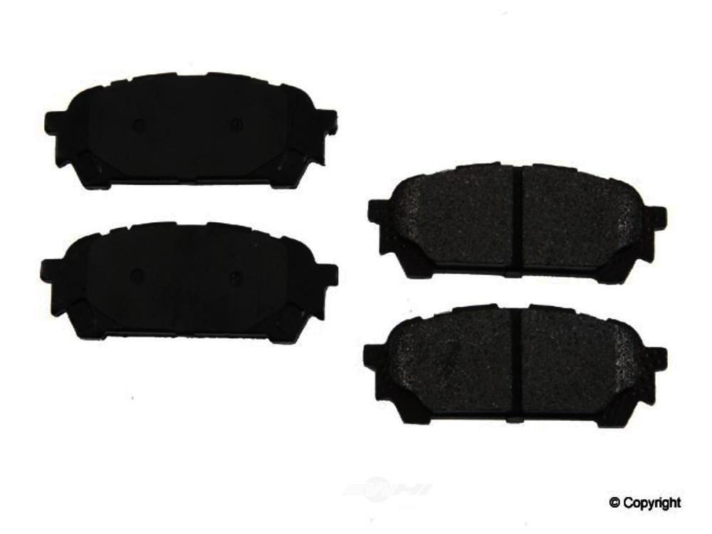 Original -  Performance Semi-Met Disc Brake Pad Set - WDX 520 10040 507