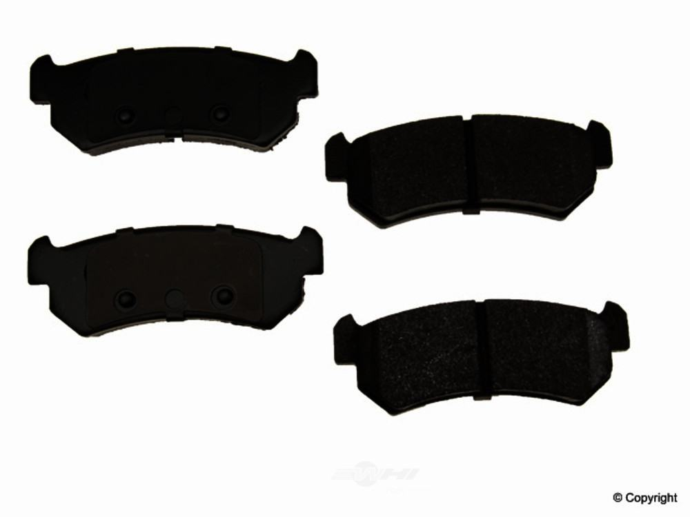 Original -  Performance Semi-Met Disc Brake Pad Set - WDX 520 10360 507
