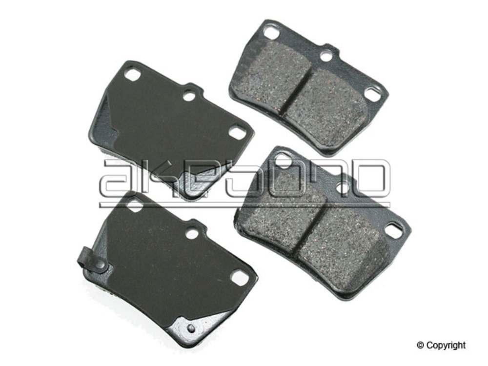 Akebono -  ProACT Disc Brake Pad Set (Rear) - IMM ACT1051