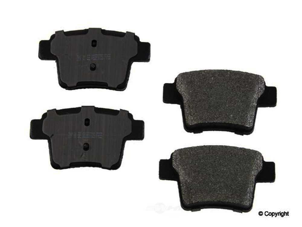Meyle -  Semi Metallic Disc Brake Pad Set - WDX 520 10710 503