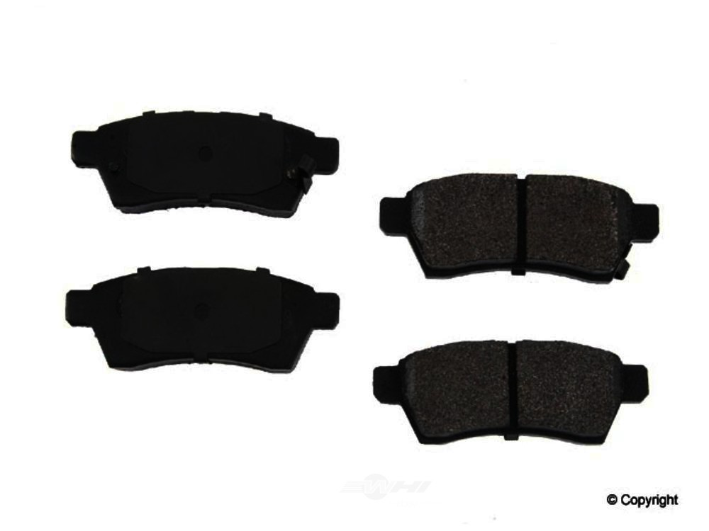 Original -  Performance Semi-Met Disc Brake Pad Set - WDX 520 11000 507