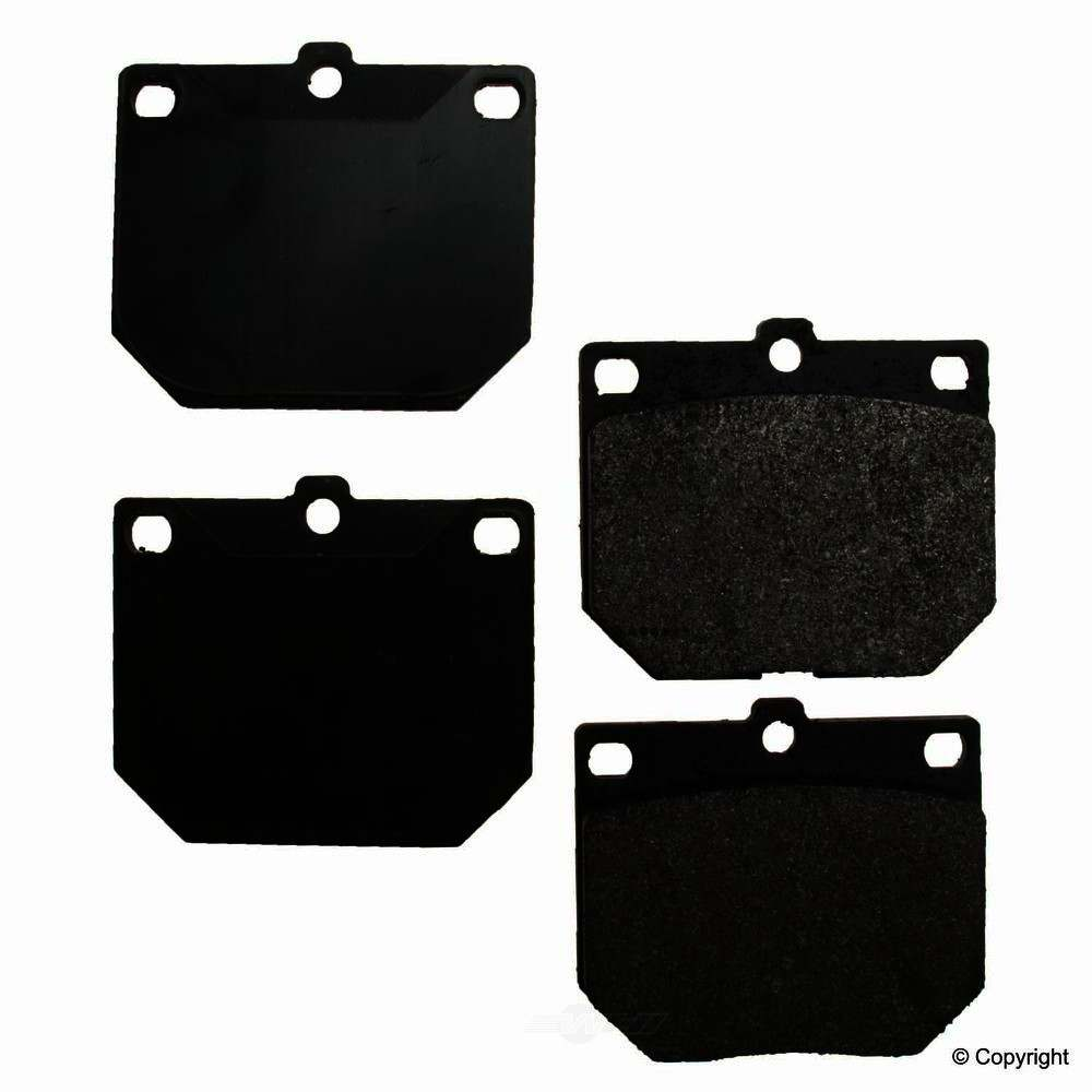 Original -  Performance Semi-Met Disc Brake Pad Set - WDX 520 01140 507