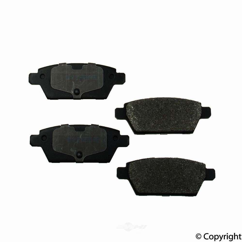 Meyle -  Semi Metallic Disc Brake Pad Set - WDX 520 11610 503