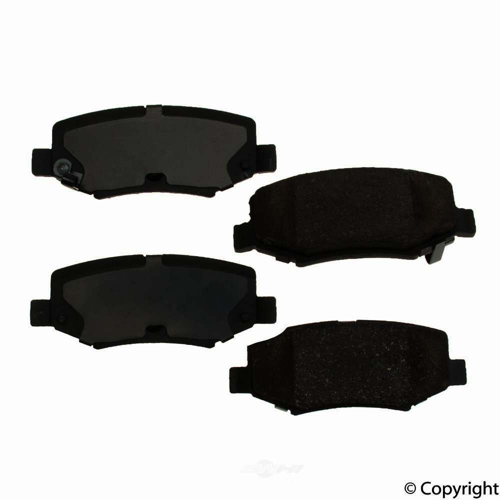 Original -  Performance Ceramic Disc Brake Pad Set - WDX 520 12740 508