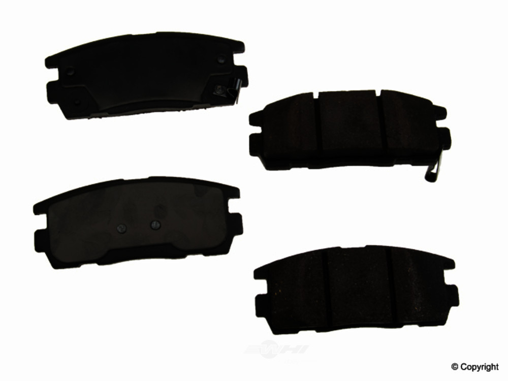 Original -  Performance Ceramic Disc Brake Pad Set - WDX 520 12750 508
