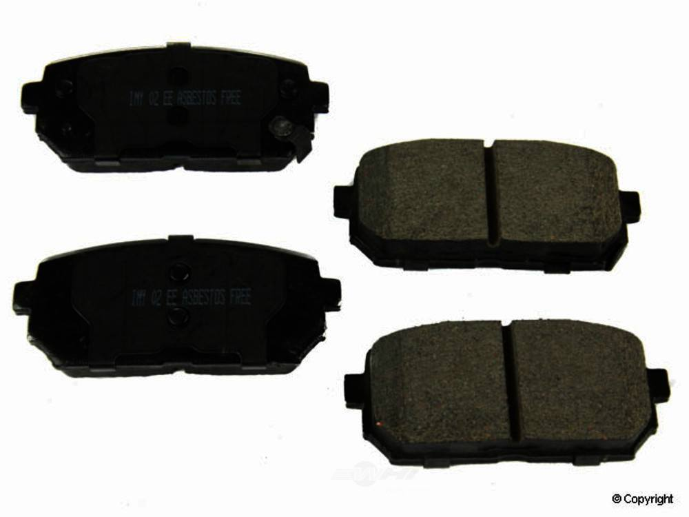 Meyle -  Ceramic Disc Brake Pad Set - WDX 520 12960 504