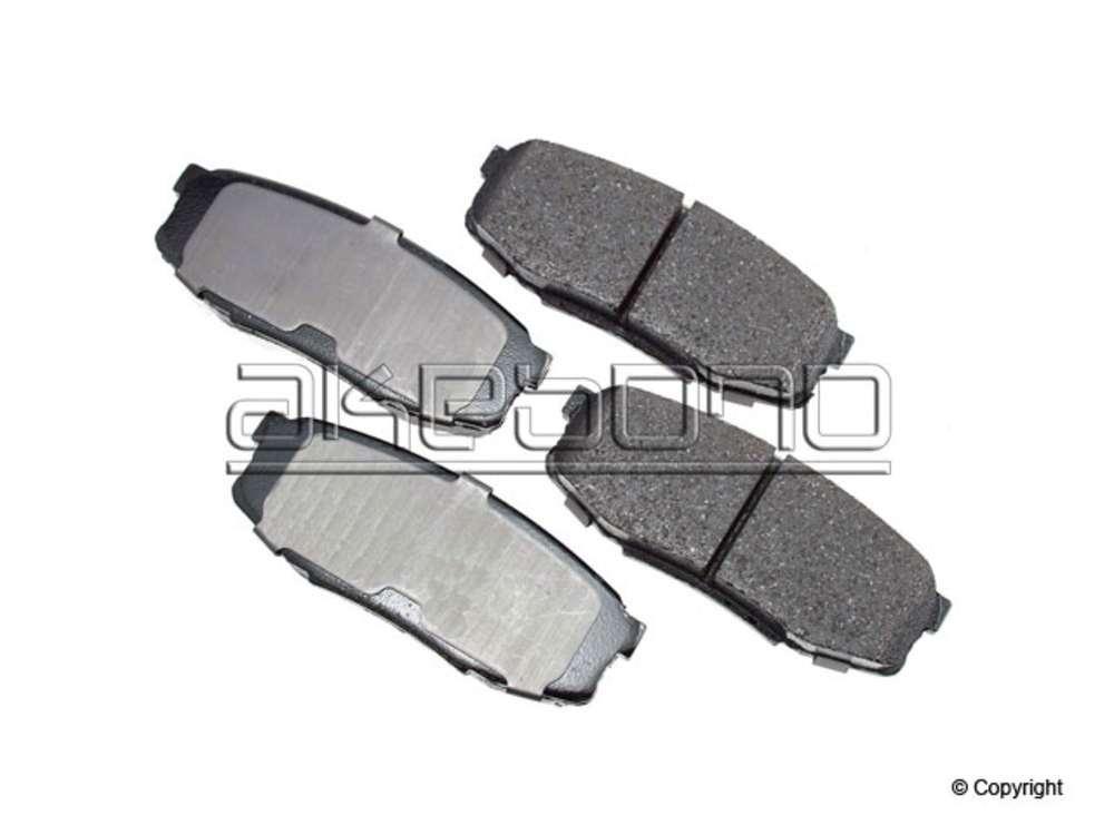 IMC MFG NUMBER CATALOG - Akebono ProACT Disc Brake Pad Set (Rear) - IMM ACT1304