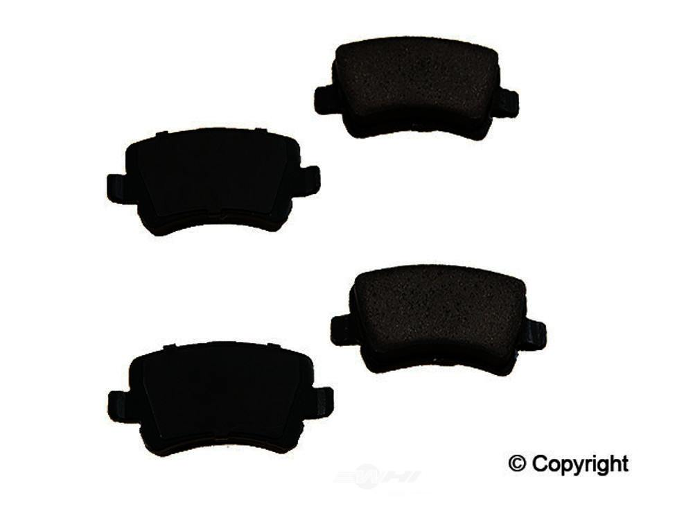 Original -  Performance Ceramic Disc Brake Pad Set - WDX 520 13070 508