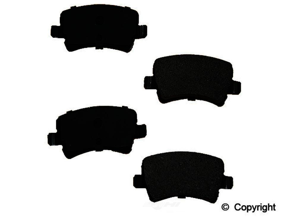 Original -  Performance Semi-Met Disc Brake Pad Set - WDX 520 13070 507