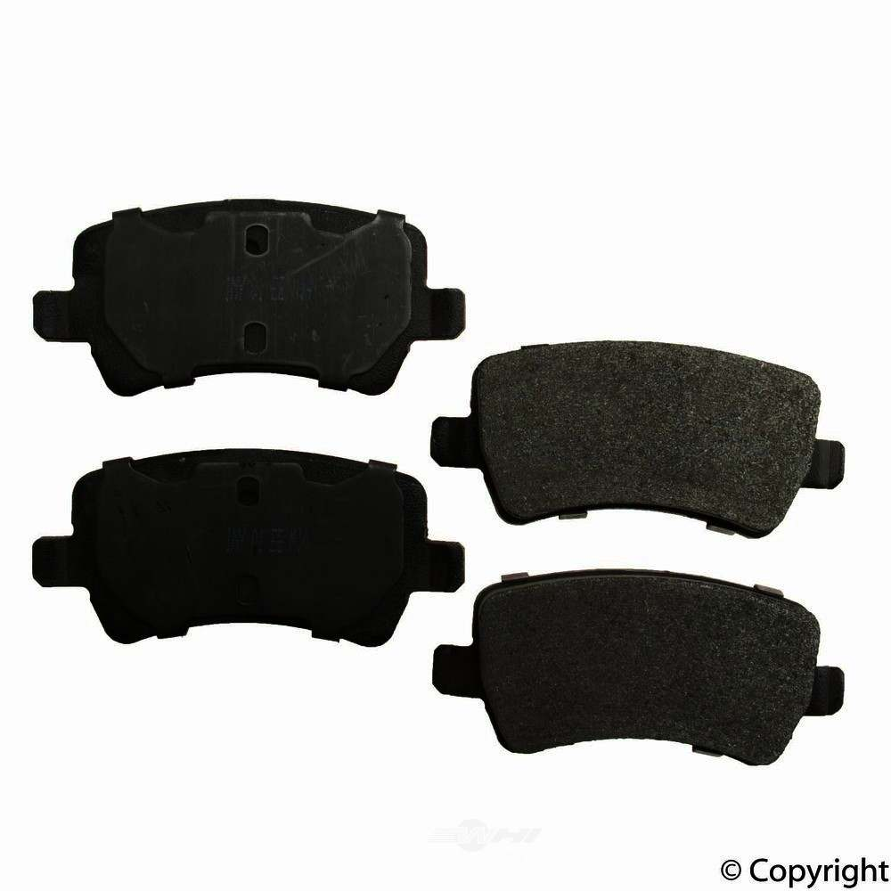 Meyle -  Semi Metallic Disc Brake Pad Set - WDX 520 13070 503