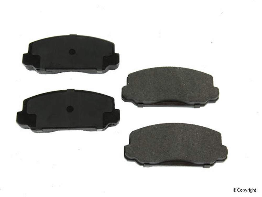 WD EXPRESS - Original Performance Semi-Met Disc Brake Pad Set (Front) - WDX 520 01300 507