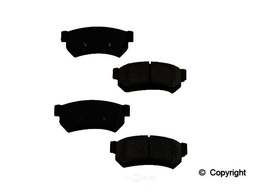 Original -  Performance Ceramic Disc Brake Pad Set - WDX 520 13150 508