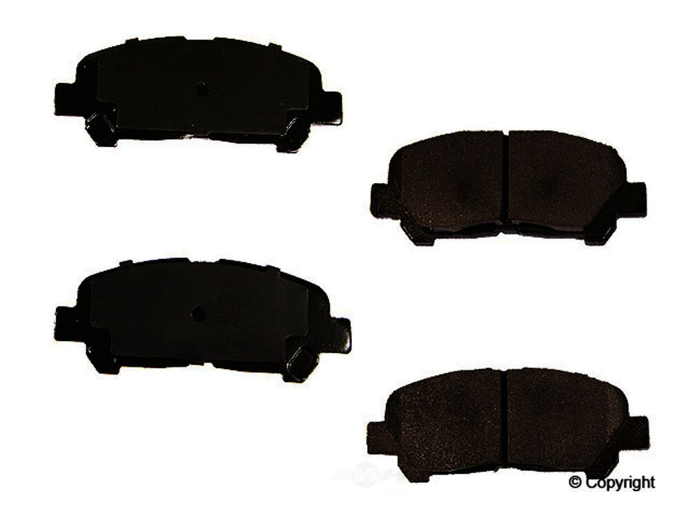 Meyle -  Semi Metallic Disc Brake Pad Set - WDX 520 13150 503