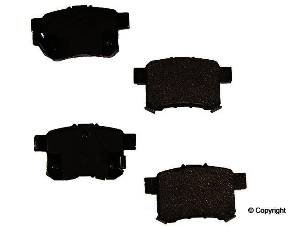 Original -  Performance Semi-Met Disc Brake Pad Set - WDX 520 13360 507
