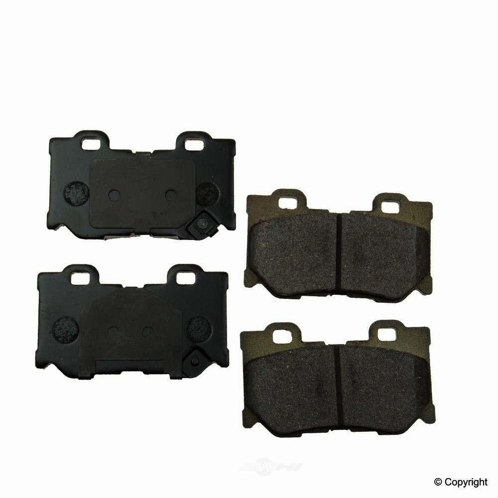 Original -  Performance Ceramic Disc Brake Pad Set - WDX 520 13470 508