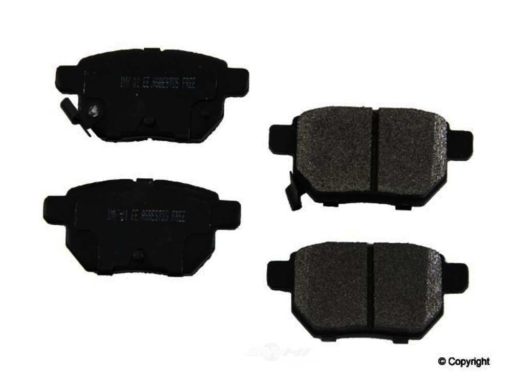 Meyle -  Semi Metallic Disc Brake Pad Set - WDX 520 13540 503