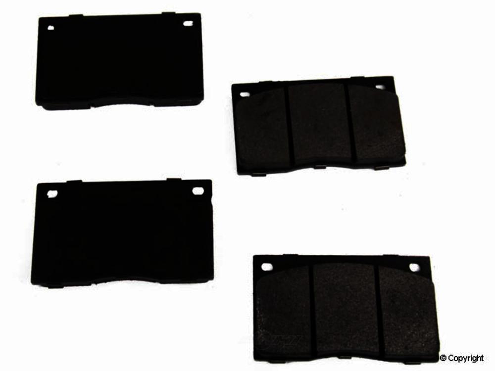 Original -  Performance Semi-Met Disc Brake Pad Set - WDX 520 01350 507