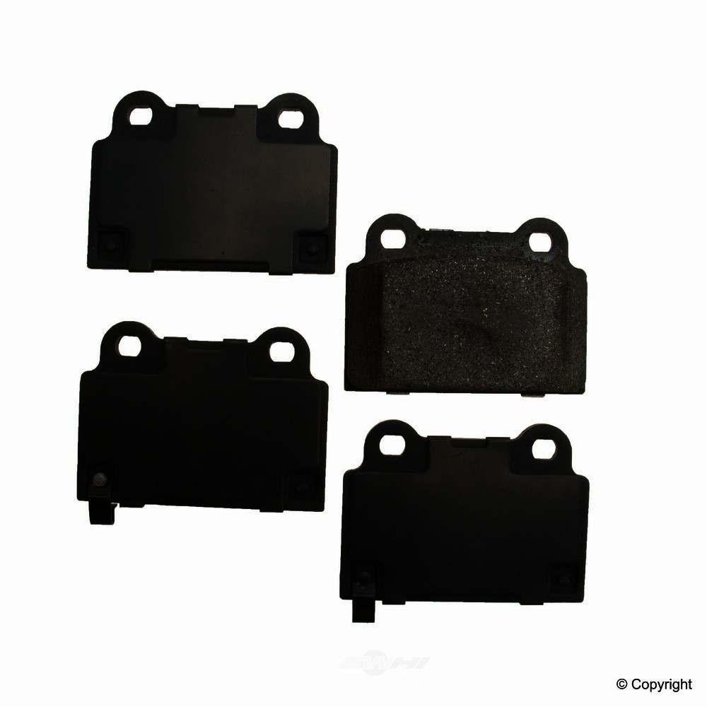 Original -  Performance Ceramic Disc Brake Pad Set - WDX 520 13680 508