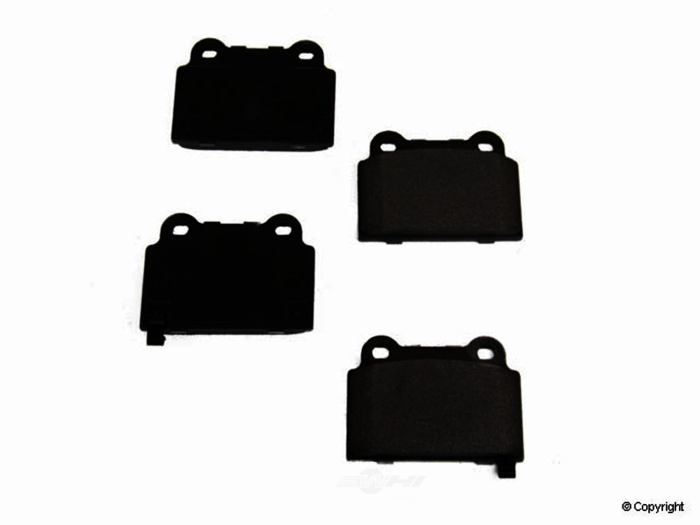Original -  Performance Semi-Met Disc Brake Pad Set - WDX 520 13680 507