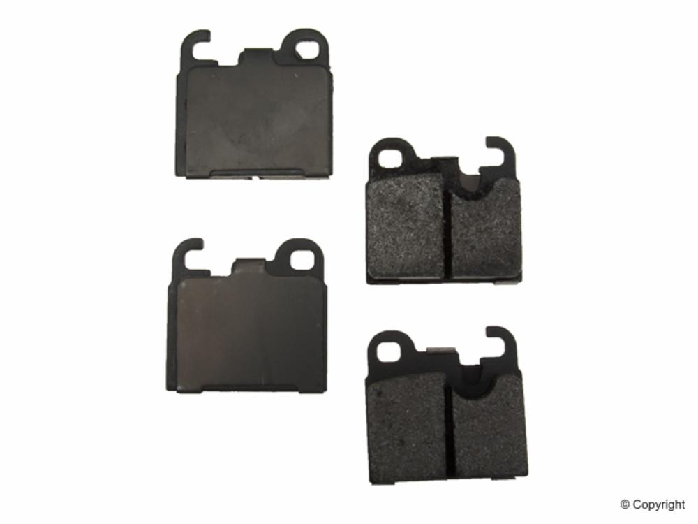 Original -  Performance Semi-Met Disc Brake Pad Set (Rear) - WDX 520 01640 507