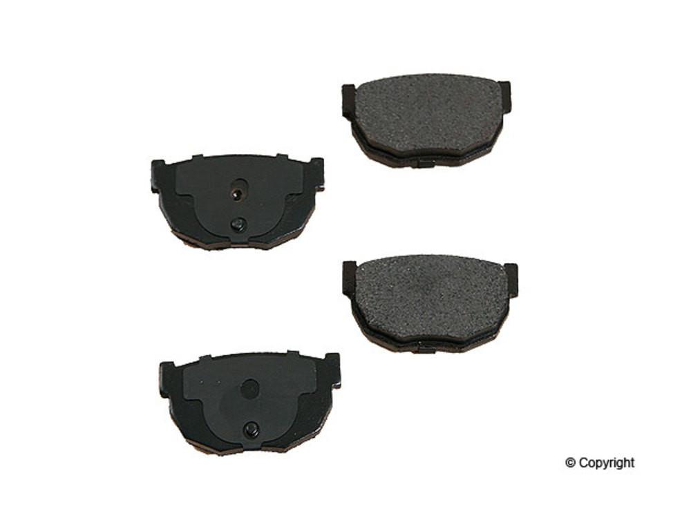 Original -  Performance Semi-Met Disc Brake Pad Set (Rear) - WDX 520 02310 507