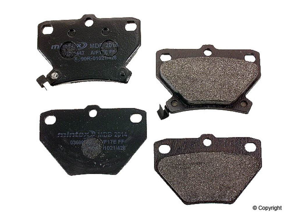 Mintex -  Disc Brake Pad Set (Rear) - WDX 520 08230 325