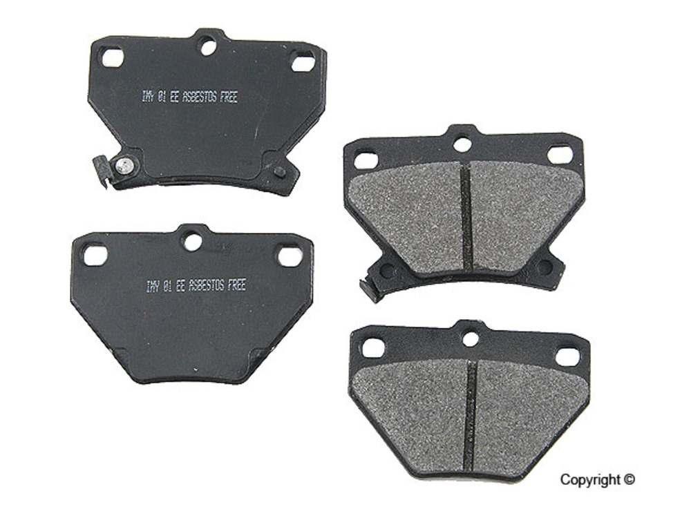 Meyle -  Semi Metallic Disc Brake Pad Set (Rear) - IMM 7696 D823 PMQ