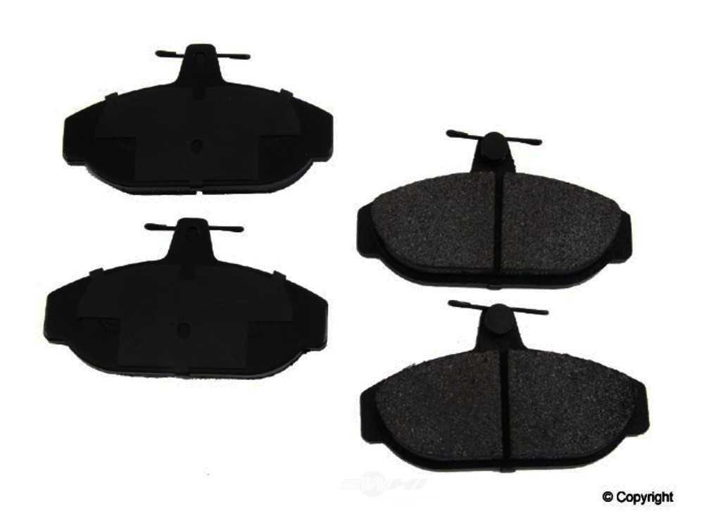 Original -  Performance Semi-Met Disc Brake Pad Set - WDX 520 02550 507