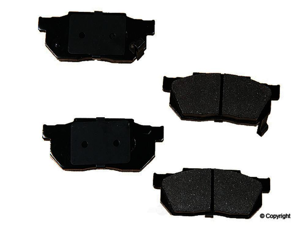 Original -  Performance Semi-Met Disc Brake Pad Set - WDX 520 02560 507