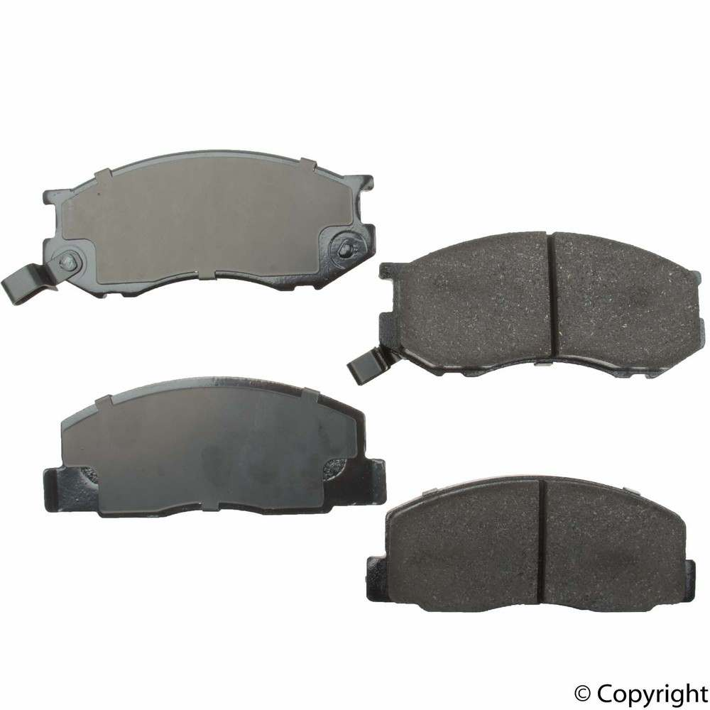 Original -  Performance Ceramic Disc Brake Pad Set (Front) - WDX 520 02630 508