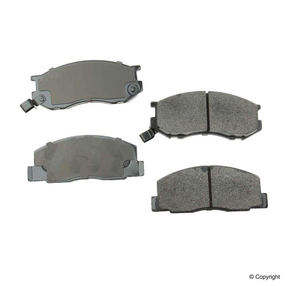Original -  Performance Semi-Met Disc Brake Pad Set (Front) - WDX 520 02630 507