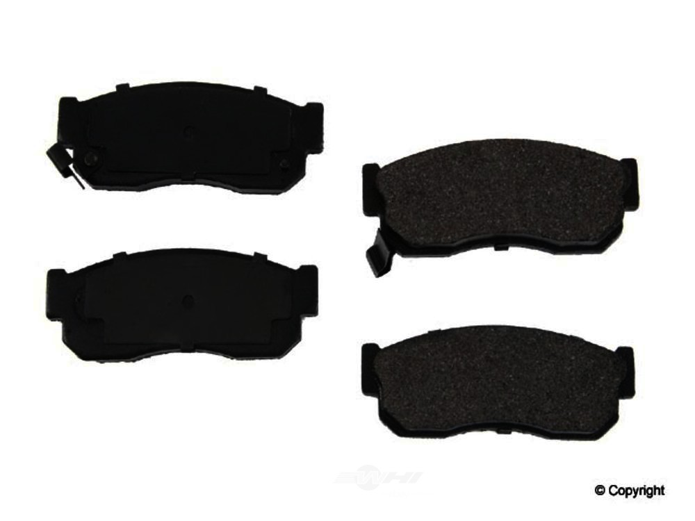 Original -  Performance Semi-Met Disc Brake Pad Set - WDX 520 02751 507