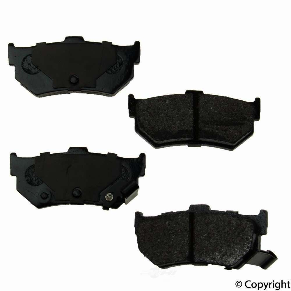Original -  Performance Semi-Met Disc Brake Pad Set - WDX 520 02770 507