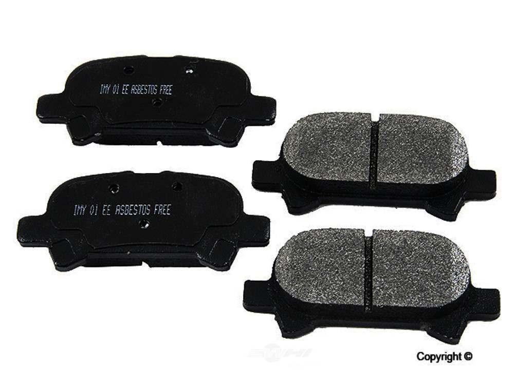 Meyle -  Semi Metallic Disc Brake Pad Set - WDX 520 08280 503