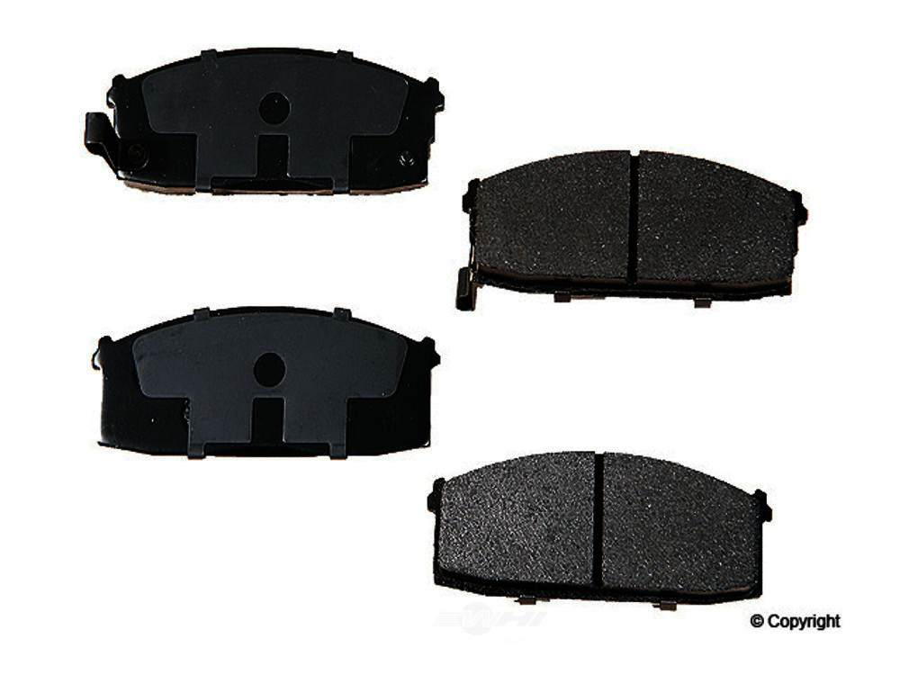 Original -  Performance Semi-Met Disc Brake Pad Set - WDX 520 03120 507
