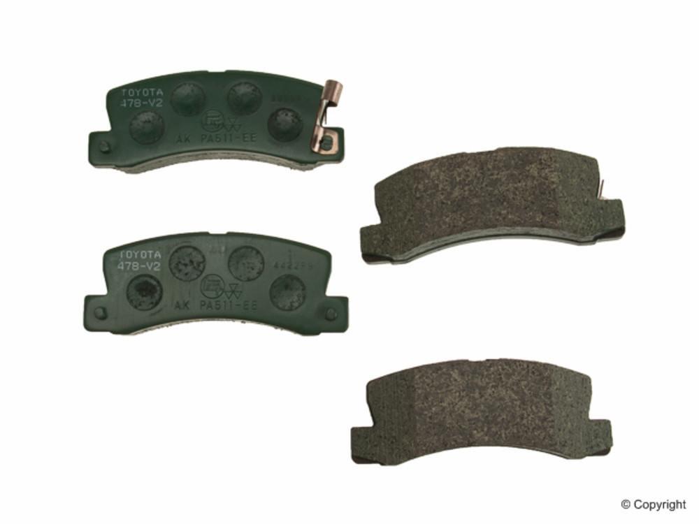 WD EXPRESS - Genuine Disc Brake Pad Set (Rear) - WDX 520 03250 001