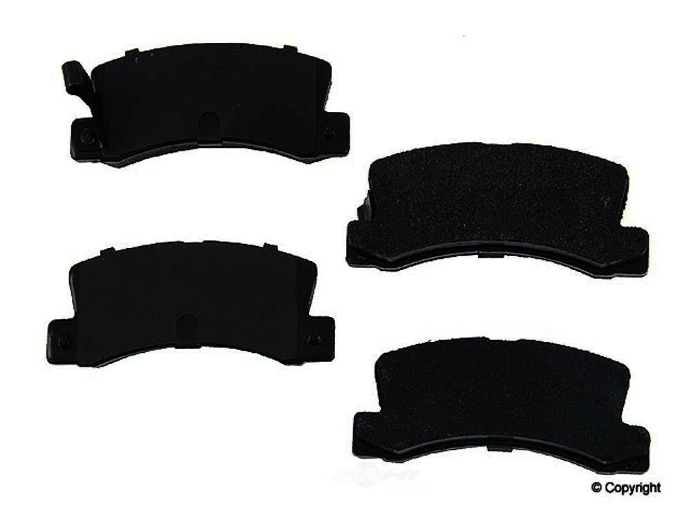 Original -  Performance Semi-Met Disc Brake Pad Set (Rear) - WDX 520 03250 507