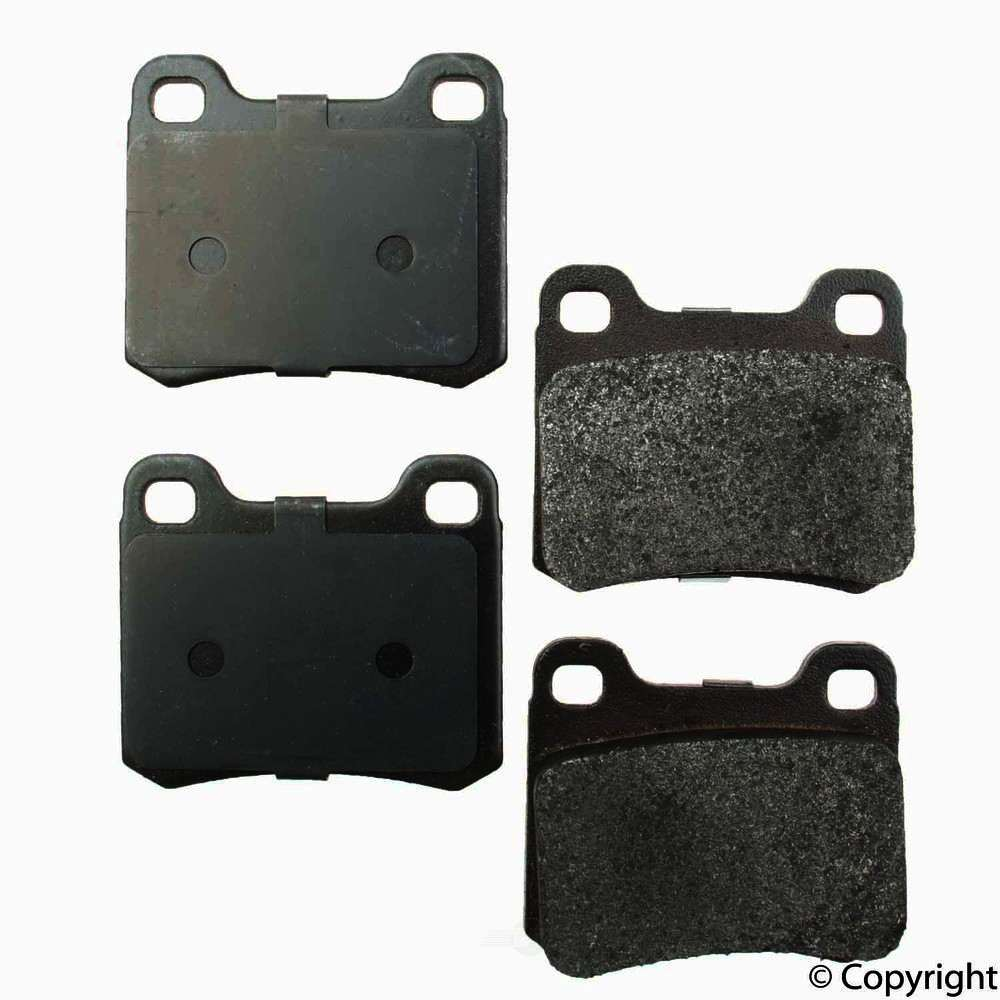 Original -  Performance Semi-Met Disc Brake Pad Set - WDX 520 03350 507