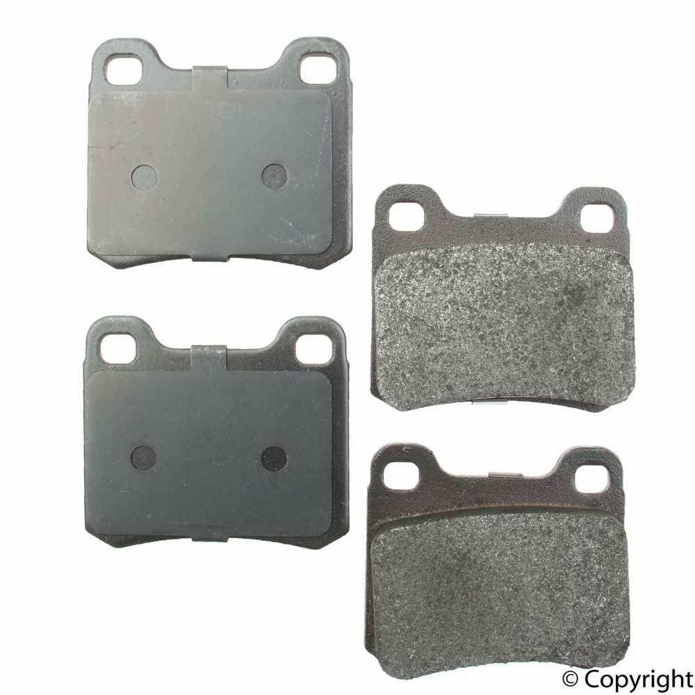 Original -  Performance Semi-Met Disc Brake Pad Set (Rear) - WDX 520 03350 507