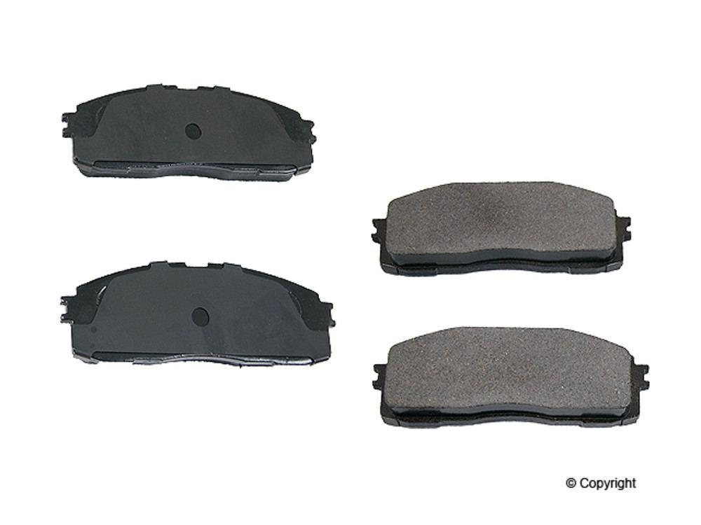 WD EXPRESS - Original Performance Ceramic Disc Brake Pad Set (Rear) - WDX 520 03370 508