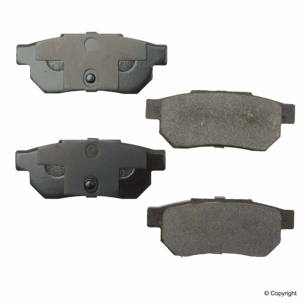 Original -  Performance Ceramic Disc Brake Pad Set (Rear) - WDX 520 03390 508