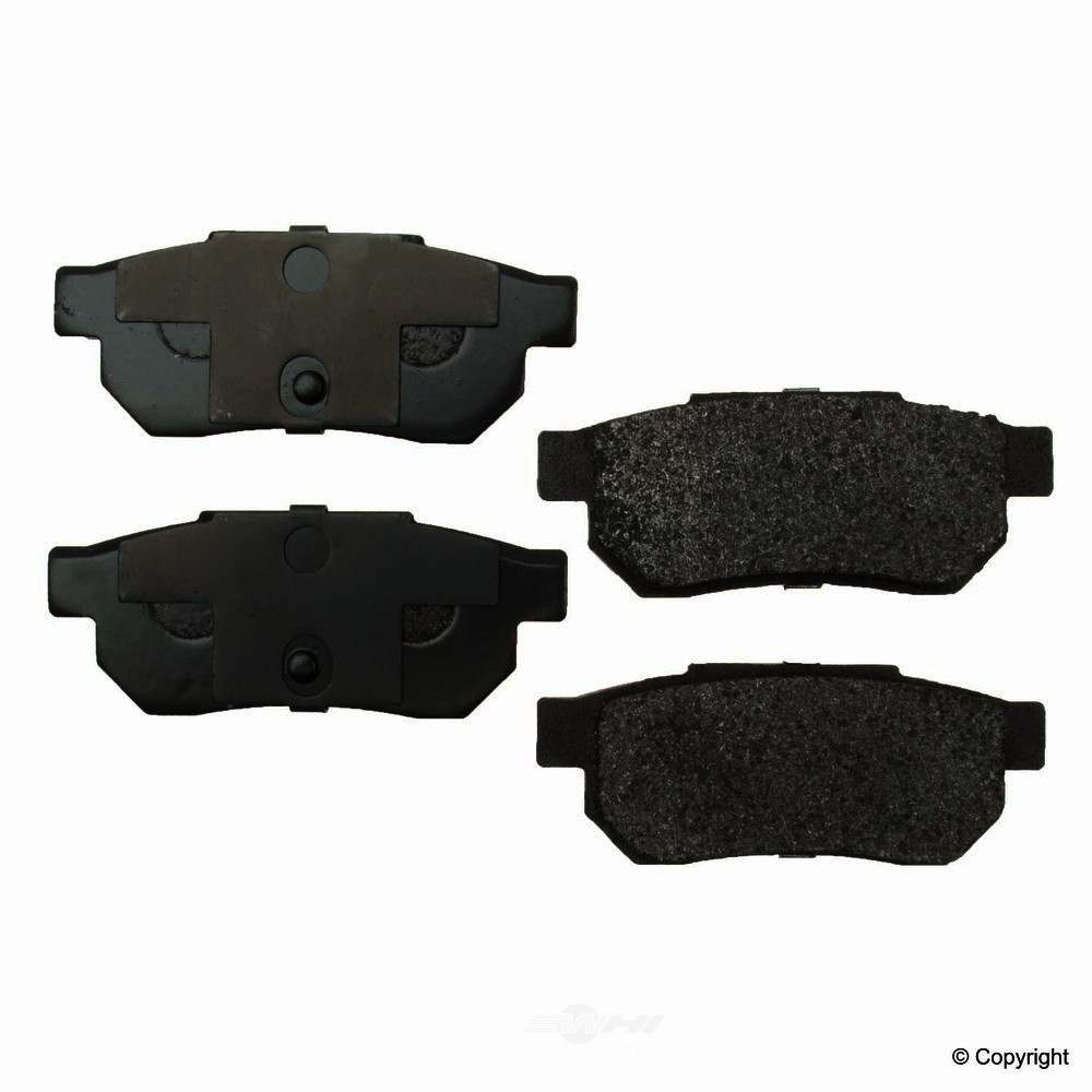 Original -  Performance Semi-Met Disc Brake Pad Set - WDX 520 03390 507