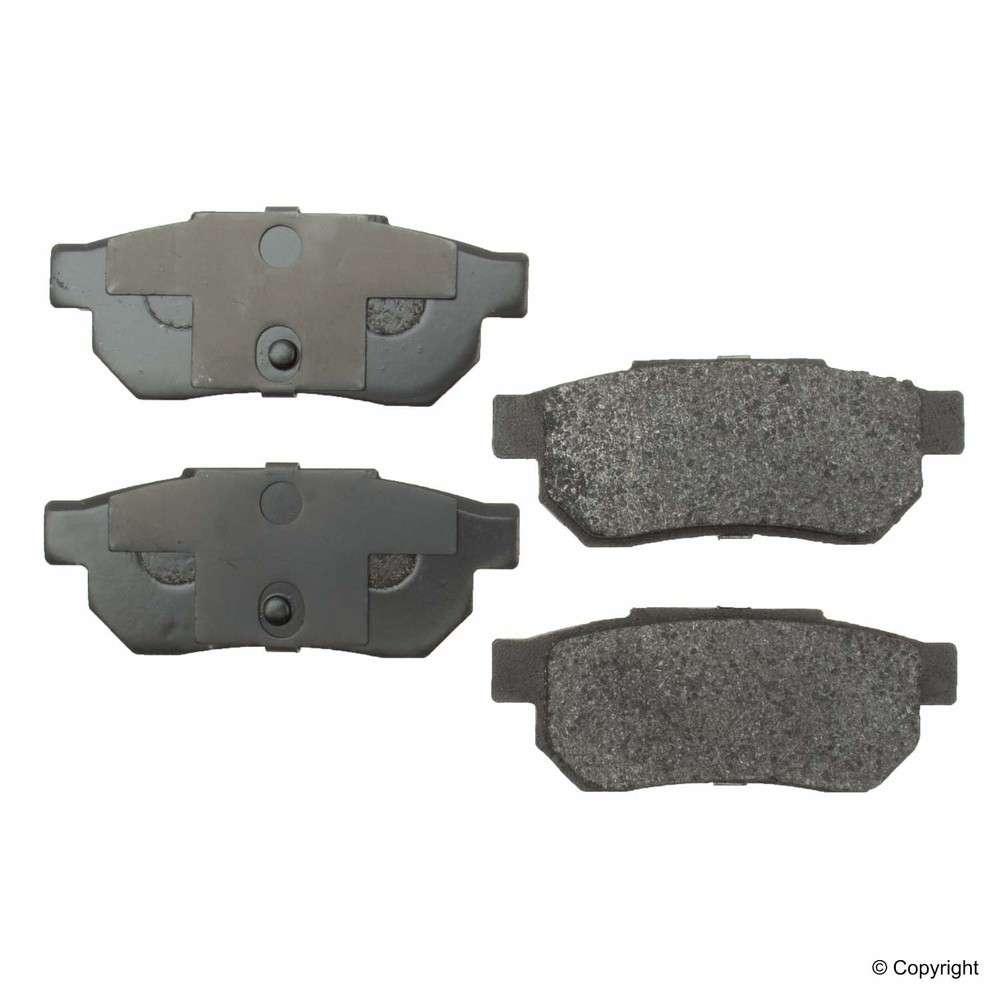 Original -  Performance Semi-Met Disc Brake Pad Set (Rear) - WDX 520 03390 507