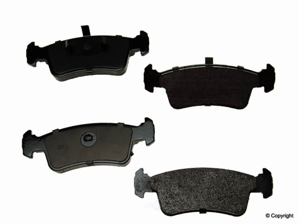 Original -  Performance Semi-Met Disc Brake Pad Set - WDX 520 03590 507