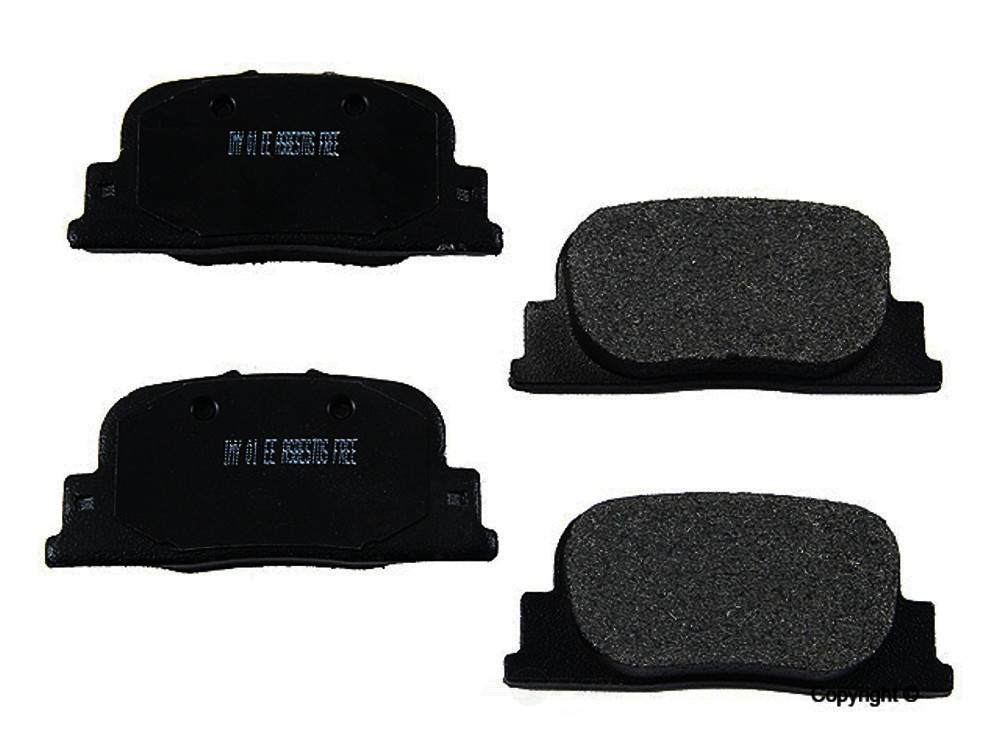 Meyle -  Semi Metallic Disc Brake Pad Set - WDX 520 08350 503