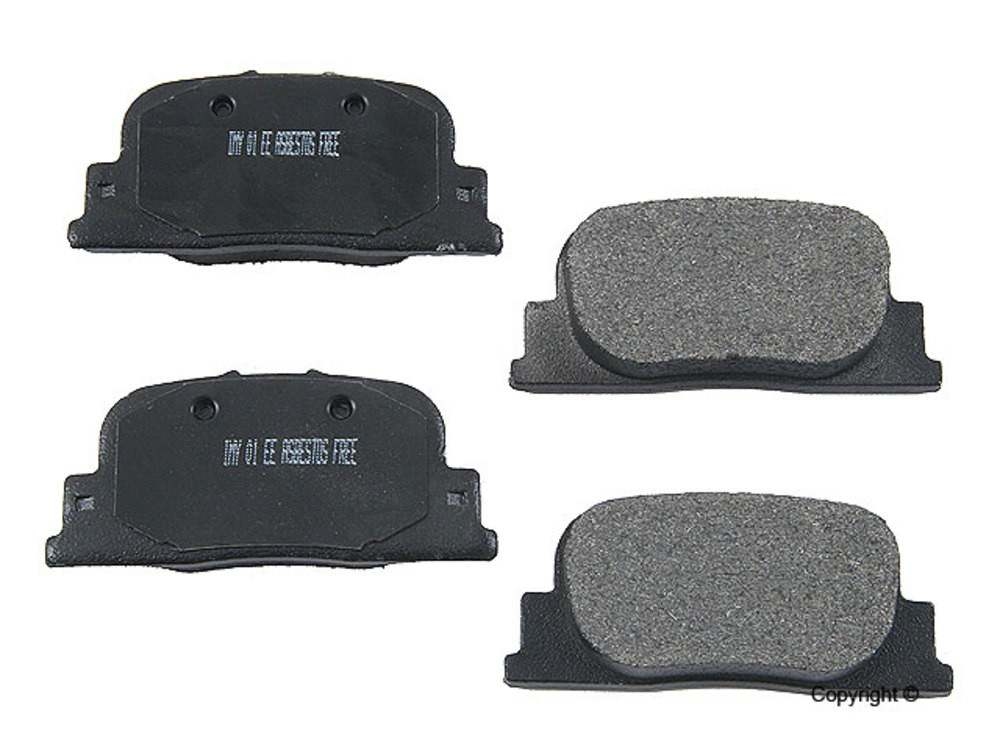 Meyle -  Semi Metallic Disc Brake Pad Set (Rear) - IMM 7708 D835 PMQ